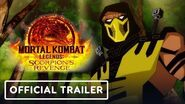 Mortal Kombat Legends Scorpion's Revenge - Exclusive Official Trailer (2020)