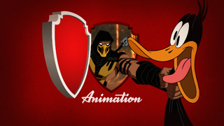 Scorpion Grabs Daffy Duck