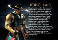Kung Lao. MKDA bio 2