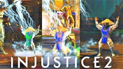 INJUSTICE 2 - NEW MK II Easter Egg KIDD THUNDER! (Mortal Kombat Friendship)