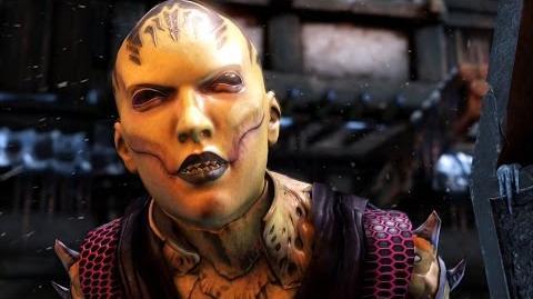 Mortal Kombat X - D'Vorah All Interaction Dialogues