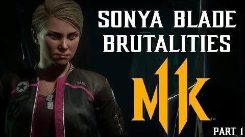 Mortal Kombat 11 - Sonya Brutalities