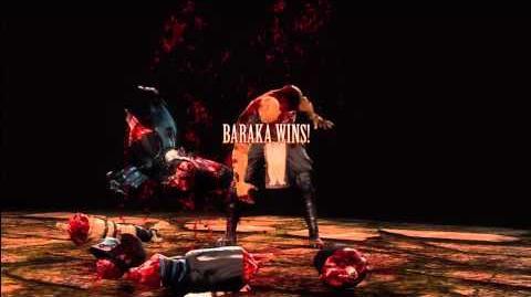 MK9 Baraka Fatality 2