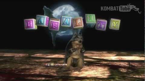 MK9 Nightwolf Babality
