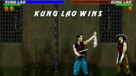 Mortal Kombat Trilogy - Friendship - Kung Lao (MKII)