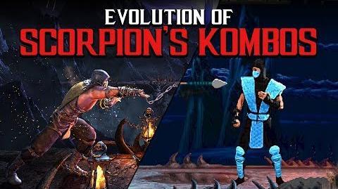 Evolution of Scorpion's Kombos (MK1-MKX)