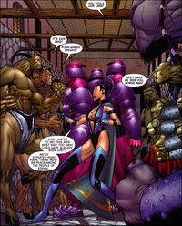 Edenian Knights with Centaurians & Shokans