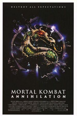 Mortal Kombat Annihilation movie poster