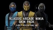 MK11 Klassic Arcade Ninja Skin Pack