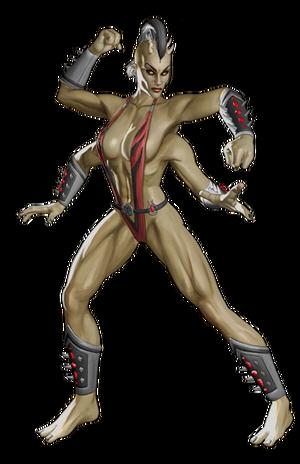 MK9 Sheeva Render