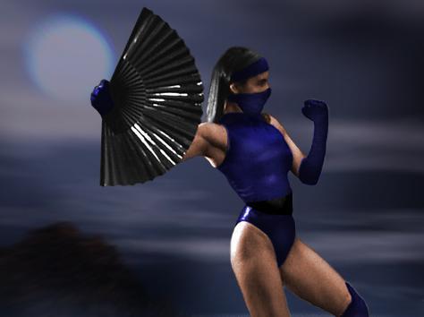 Kitana Mortal Kombat Original