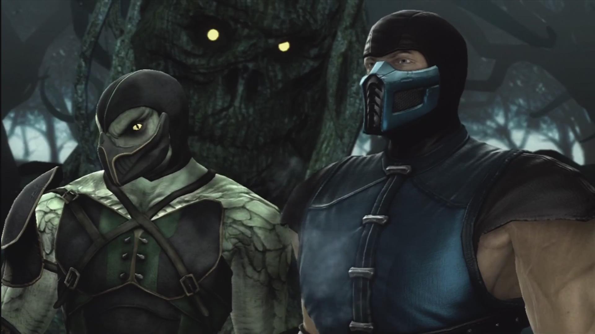 image - mk9 - sub-zero and reptile | mortal kombat wiki | fandom