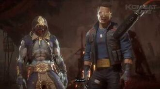 "MK 11 Johnny Cage ""Who Hired This Guy"" Fatality"