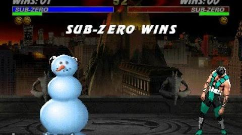 Mortal Kombat 3 - Friendship - Sub-Zero