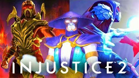 INJUSTICE 1 & 2 - All Mortal Kombat Character Endings! (Scorpion, Sub-zero, Raiden)
