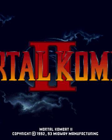 Mortal Kombat Ii Mortal Kombat Wiki Fandom