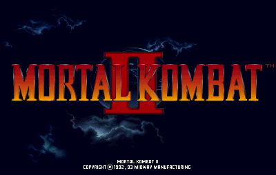 Mortal Kombat II Video Game