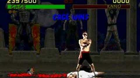 Fatality Johnny Cage MK1