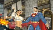 Mortal Kombat vs DC Sonya Blade vs Superman