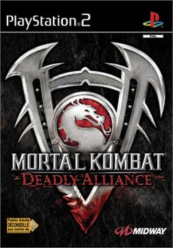 PS2 - MK Deadly Alliance