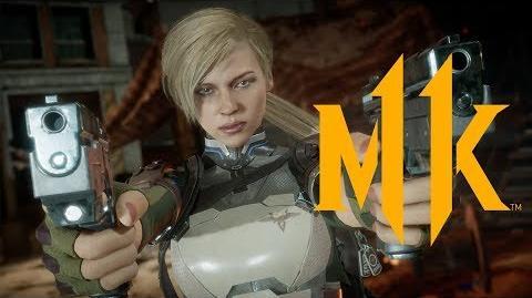 Mortal Kombat 11 - Official Cassie Cage Reveal Trailer-0