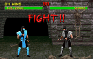 Smoke Secret MK2 Fight