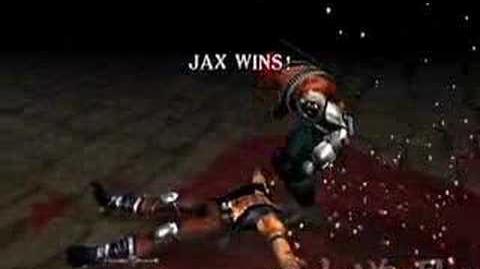 Video - Mortal Kombat Deadly Alliance Jax's Fatality