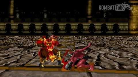 GBA MK TE Drahmin Weapon Fatality