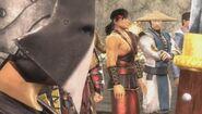 Kung Lao as a masked guard