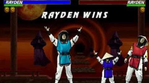 Mortal Kombat Trilogy - Friendship - Raiden