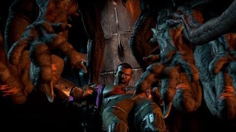 "Mortal Kombat X - Corrupted Shinnok's ""Pillar Carve"" Fatality"