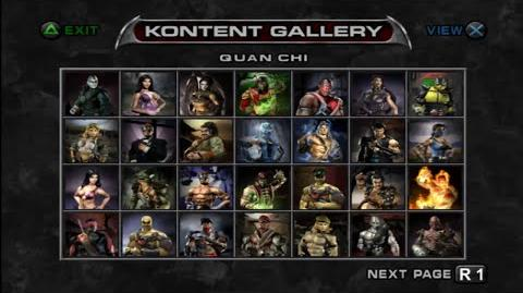 Video - Mortal Kombat Deadly Alliance (Characters Gallery