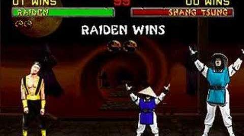 Mortal Kombat II - Friendship - Raiden