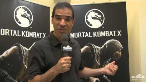 ED Boon Gamescom 2014 about Mortal Kombat X Newest Updates