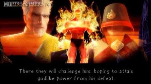 Mortal Kombat Unchained - Playstation Portable - Blaze - Ending