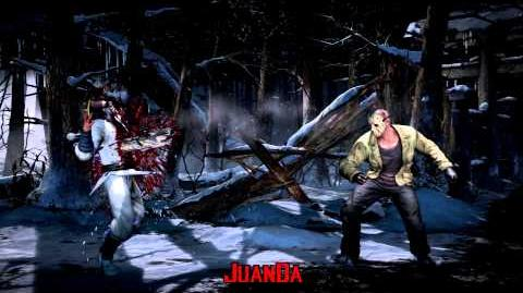 Mortal Kombat X Dead Wood Brutality