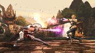 Mortal Kombat 2011 Sonya Blade vs Sindel 1
