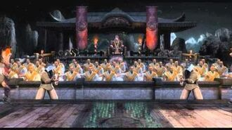 The Courtyard Night - Mortal Kombat 9 (2011) OST (HQ)
