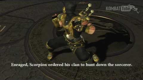 MK-Armageddon Ending- Scorpion