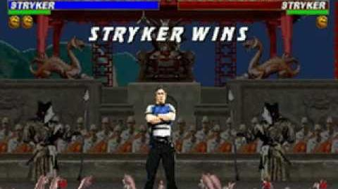 Mortal Kombat Trilogy - Brutality - Stryker