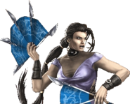 Kitana with her Steel Fans