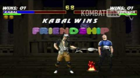 MK III Kabal Friendship