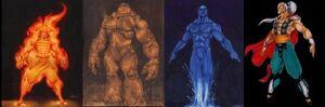 Fujin & the Elemental Gods