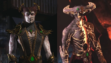 Shinnok & Corrupted Shinnok