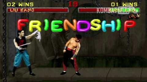MK II Kung Lao Friendship