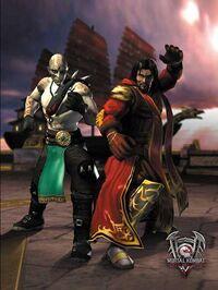 Mortal kombat deadly alliance shang tsung quan chi