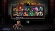 MKD Puzzle Kombat Select Screen