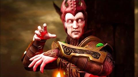 Mortal Kombat X - Shinnok All Interaction Dialogues