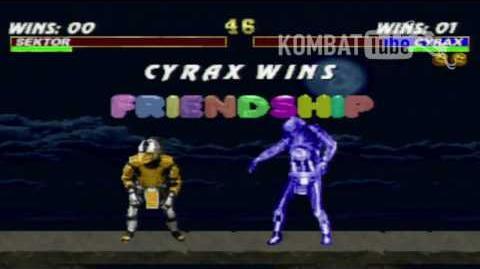 MK III Cyrax Friendship