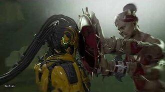 MK11 Sheeva Fatal Blow Fatality On Sektor Cyrax Kronika